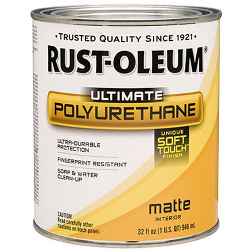 Rust-Oleum Not Available 260165 Soft Touch Polyurethane, Quart, -