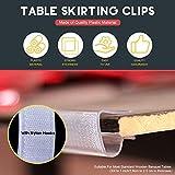 Hilitchi 30Pcs Table Cover Tablecloth Clips EC
