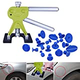 Super PDR 19pcs Auto Body Paintless Dent Removal Repair Tool Kits Glue Puller Smile Dent Lifter with Pro Glue Puller Tabs