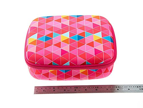 ZIPIT Colorz Lunch Box, Pink Triangles Photo #4
