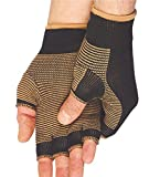 Medisonic's CopperPro. High Quality Copper Threaded Fibers Keep Bacteria And Moisture Away For Healthy Looking and Feeling Hands. The Compression Therapy Promotes Blood Circulation and Increased Oxygenated Blood Cells While Wearing The Copperpro. Glo...