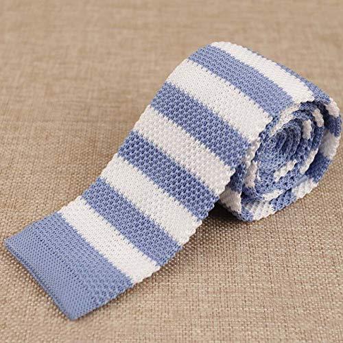 LLZGPZLD Corbata/Corbata A Rayas para Trajes Camisas De Seda De ...