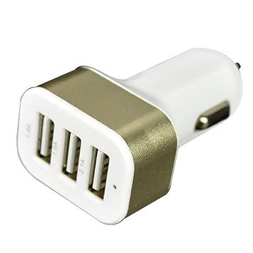 LianLe 3 Puerto 5.1 A Cargador USB para teléfono móvil ...