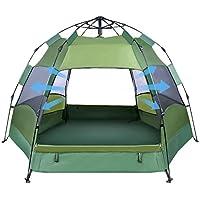 OlarHike 2-4 Person Tent for Camping, 4 Season...