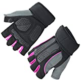 Women's Men's Weightlifting Gloves for Workout, Gym Review and Comparison