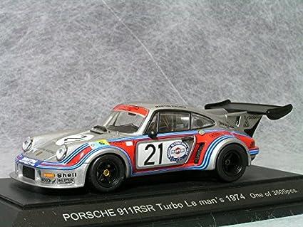 Porsche 911 RSR Turbo 74 Le Mans 24hr #21 1/43 Scale Diecast