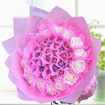 33 ramo de chupetes de ramo de flores artificiales de ...