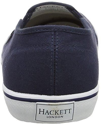 Hackett London Bamba Slip On, Mocasines Para Hombre Azul (Navy)