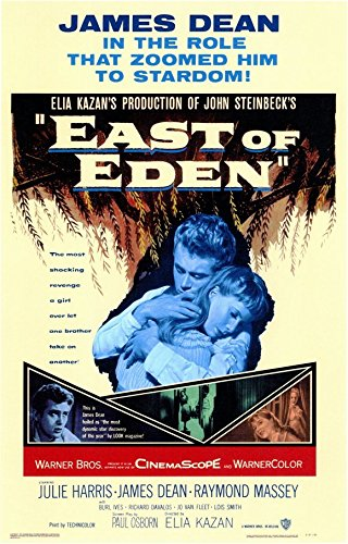 East of Eden Poster Movie B 11x17 James Dean Julie Harris Richard (Dick) Davalos Raymond Massey (Movie Posters James Dean)