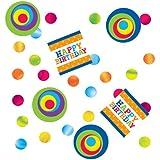 Creative Converting Party Decoration Confetti, Mod Circle Birthday