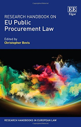 Research Handbook on EU Public Procurement Law (Research Handbooks in European Law series)