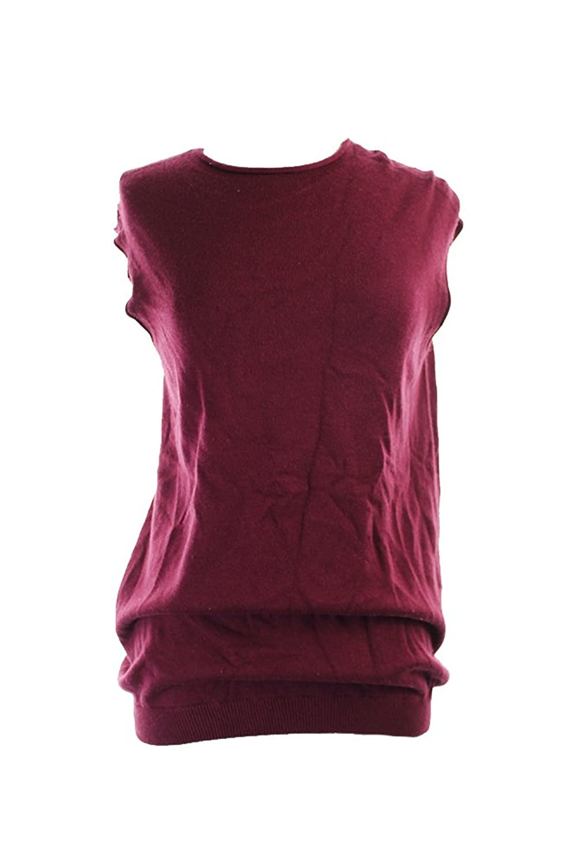 Alfani Burgundy Cap-Sleeve Sweater Xl
