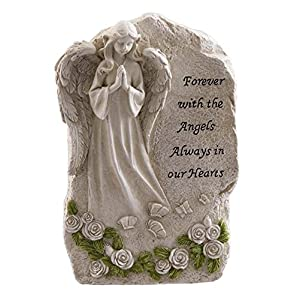 Forever-With-The-Angels-Statue-To-Express-Sympathy-For-Funeral-Or-Memorial-Comfort-The-Grieving-For-Loss-Of-A-Loved-One