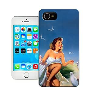 Unique Phone Case Fashion girl#5 Hard Cover for 4.7 inches iPhone 6 cases-buythecase
