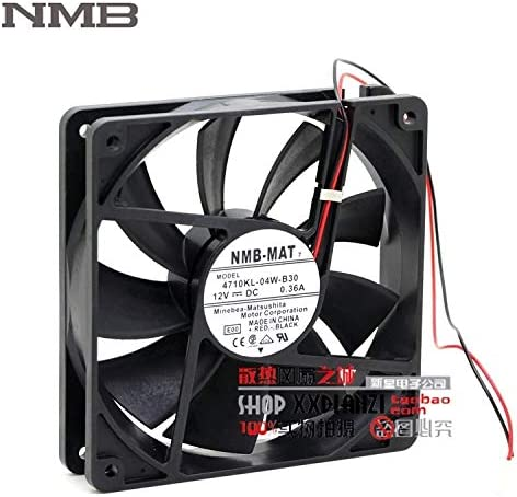 Original For NMB 4710KL-04W-B30 12025 12CM 0.36A 12V professional chassis cooling fan