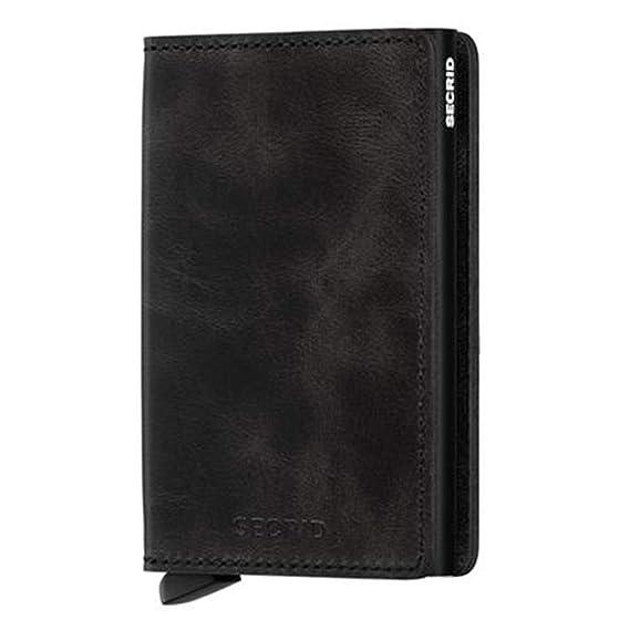 ce67f1d143f Secrid Slim Wallet Leather Vintage Black, rfid safe card case ...