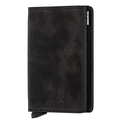 outlet store b528b 8732b Secrid Men Slim Wallet Genuine Leather RFID Card Case Max 12 Cards