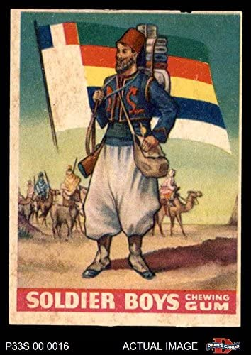 1933 Goudey Soldier Boys # 18 French African Zouaves (Card) Dean's Cards 3 - VG 51Uy4rxjORL
