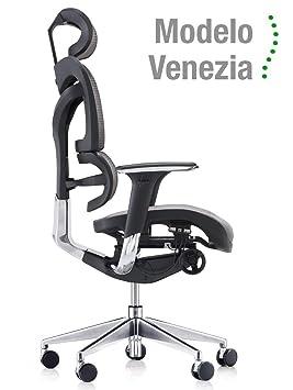 Silla ergonómica de oficina Modelo Venezia. Cuida de tu cuello ...
