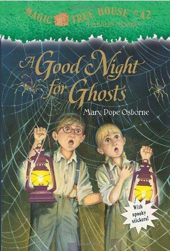 "Buena noche para fantasmas - Book #14 of the Magic Tree House ""Merlin Missions"""