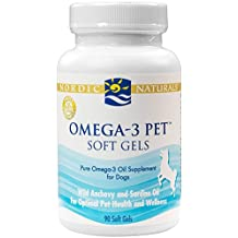 Nordic Naturals - Pet-Omega-3, Promotes Optimal Pet Health and Wellness, 90 Soft Gels