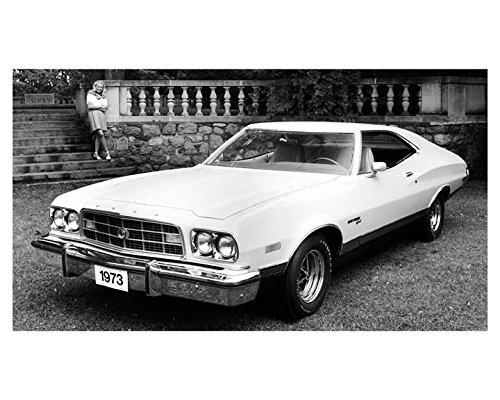1973 Ford Gran Torino Automobile Photo Poster