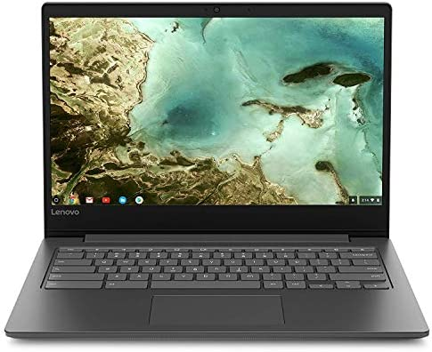 Lenovo Chromebook S330 14in Laptop Computer, Mediatek MT8173C up to 1.7 Ghz, 4GB RAM, 32GB eMMC SSD, Bluetooth, HDMI, USB-C, SD Card Reader, Chrome OS, Black (Renewed)