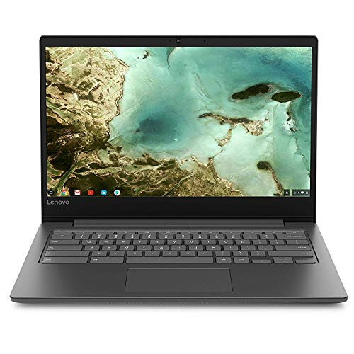 Lenovo Chromebook S330 14in Laptop Computer, Mediatek MT8173C up to 1.7 Ghz, 4GB RAM, 32GB eMMC SSD, Bluetooth, HDMI, USB-C, SD Card Reader, Chrome OS, Black (Renewed)