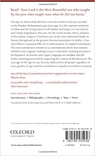 The Qur'an (Oxford World's Classics): M. A. S. Abdel Haleem ...
