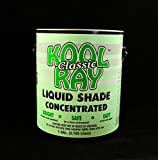 Classic Kool Ray Liquid Shade - Greenhouse Paint - White - 1 Gallon