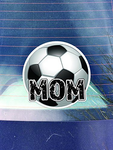 Soccer Mom Vinyl Decal Sticker | Cars Trucks Vans Walls Laptops Cups |Printed | 5.25 inches | KCD1039