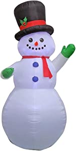 Home Accents Holiday 14991 9 ft. Inflatable Airblown-Snowman