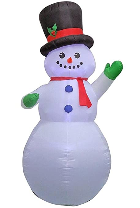 Home Accents Holiday 14991 9 Ft Inflatable Airblown Snowman