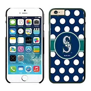 Seattle Mariners iPhone 6 Cases 2 Black for iPhone 6 by lolosakes