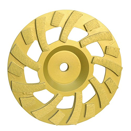 Super Turbo Hard Concrete Grinding Diamond Cup Wheel 18 Segments 7'' x (7' Diamond Grinding Wheel)