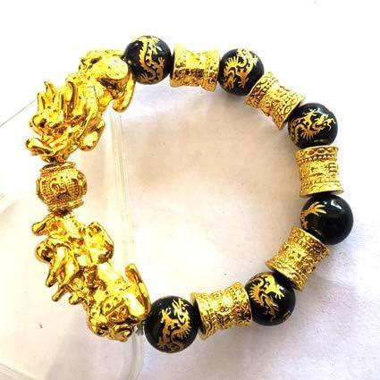 Giraffe Jewelry Bracelet Animal Print Woman Stretch Beaded Bracelet Yellow