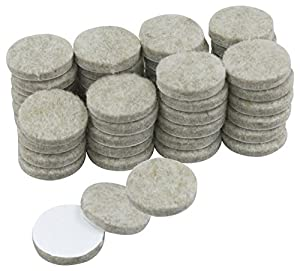 picture of 25mm 48 Piece Heavy Duty Felt Pads
