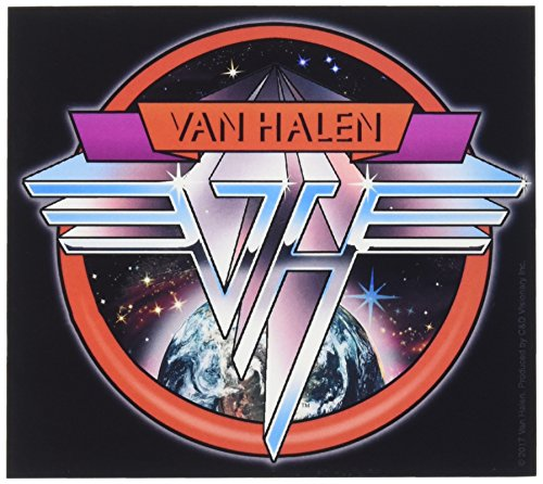 - C&D Visionary Van Halen Space Logo Sticker