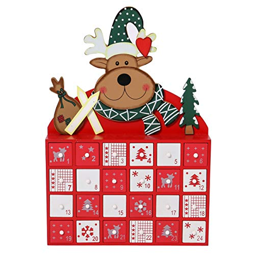 Sunnyglade Christmas Wooden Advent