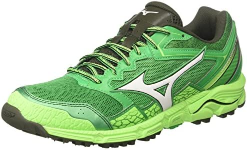 Mizuno Wave Daichi 3, Zapatillas de Running para Hombre, Multicolor (Brightgreen/White/greengecko 01), 44.5 EU: Amazon.es: Zapatos y complementos