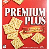 Premium Plus Crackers with Salted Tops, 1 Box (900g)