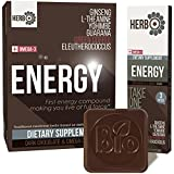 omega driver 300 - Pure Caffeine - L-theanine 200mg - Energy - Focus - Brain Support Nootropic - Preworkout Supplement for Men - Women - Natural L-theanine Caffeine Stack for Focused Energy - Caffeinated Chocolate
