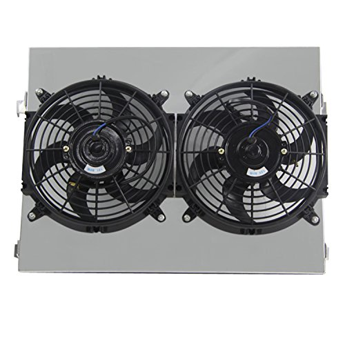 Primecooling Radiator Fan (10 Inches Dia.) + Shroud for Chevrolet Chevy Bel-Air More Models 1955- 57 (Air Condition Stop Leak compare prices)