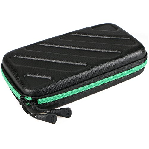 EEEKit Portable Travel Cable Organizer Electronics Accessories Cases Digital Bag for Hard Drives, Charging Cords, USB Charger Adapter, USB Flash Drives, Data Cable (7.3 in x 4.5 in x 1.6 in) by EEEKit (Image #3)'