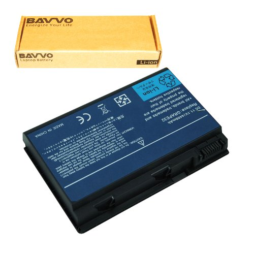 Bavvo Battery Compatible with Acer Extensa 5210 5220 5620G 5620Z Series Laptop Battery TM00741 TM00751, 11.1V