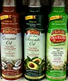 Pompeian Non-Stick Cooking Spray 5 Oz (Variety Pack of 3)