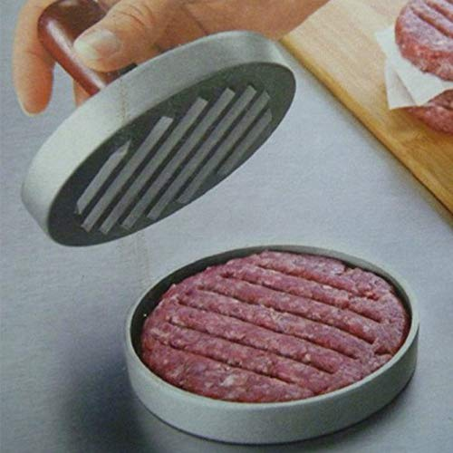 Purra145 Burger Mold 1 Set Round Shape Hamburger Maker Meat Mold Beef Grill Burger Press Machine Maker Kitchen Tool by Purra145