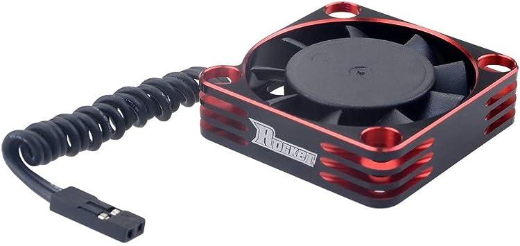 TwoCC Rc Coche,Surpass Hobby Ventilador 40X40 Metal Disipador De ...