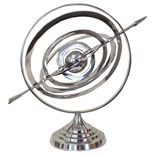 (EcWorld Enterprises 7723382 Nautical Armillary Sphere Globe Table And Studio Decor)