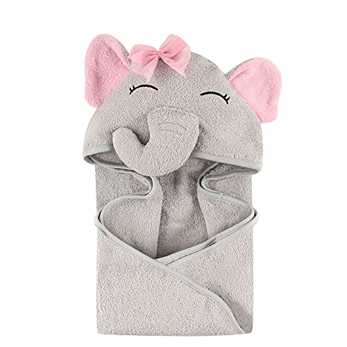 Hudson Baby Unisex Baby Cotton Animal Face Hooded